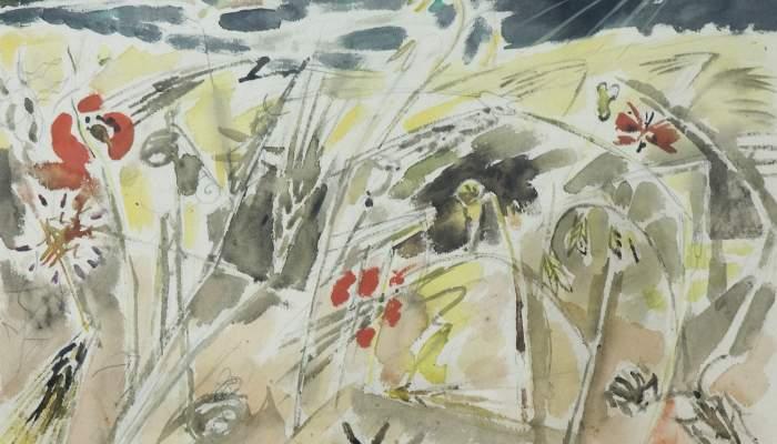 <p><em>Batalla d&rsquo;insectes</em>. Andr&eacute; Masson (Balagny-sur-Th&eacute;rain, 1896 - Paris, 1987).</p>