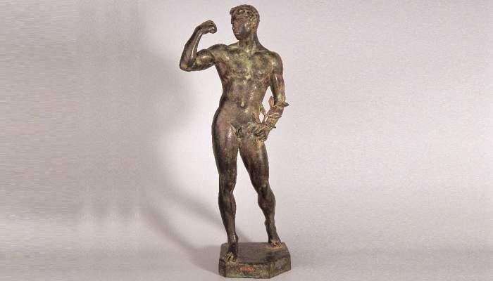 <p>Atleta, 1918.</p>