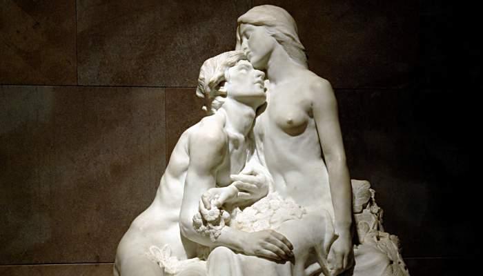 """<p>""""Eclosi&oacute;"""", Miquel Blay, 1905. Marble.&nbsp;</p>"""