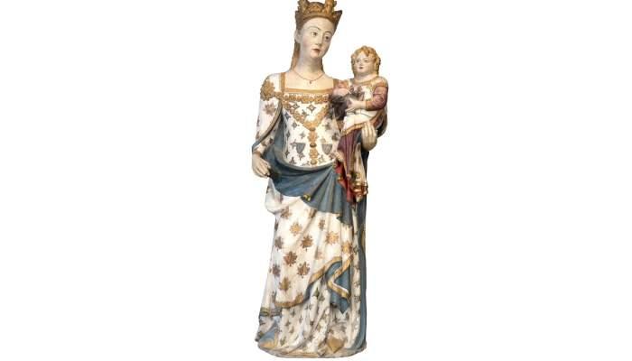 <p>La Mare de D&eacute;u de Santa Maria de Bellpuig de les Avellanes, obra mestra de Bartomeu de Robi&oacute;.</p>