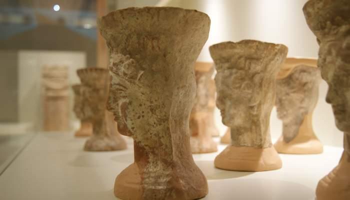 <p>Bust femení, segle IV-III aC.</p>