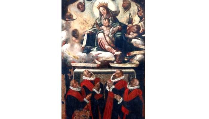 <p>Taula de la Verge dels Procuradors, segle XVII.</p>