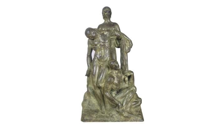 <p>Mock-up of the<em> Monument to the Heroes of 1811</em>, Julio Antonio<em>, </em>1916<em>.</em></p>
