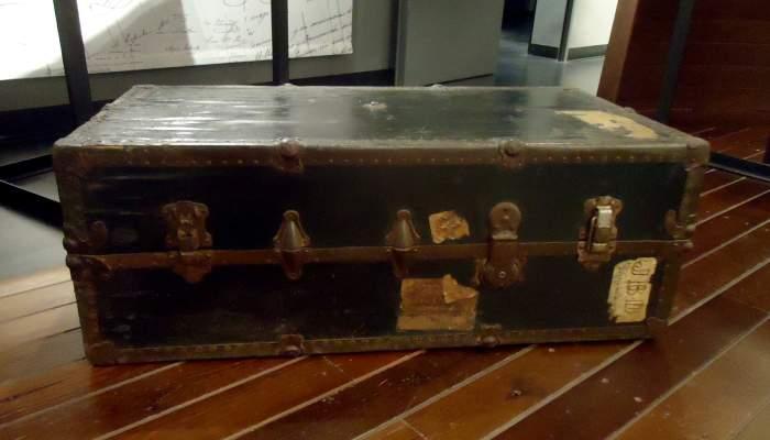 <p>19th century trunk.</p>