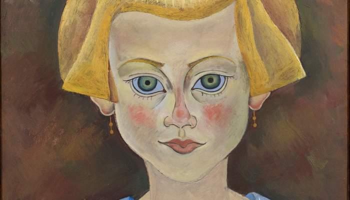 <p><em>Retrat d&rsquo;una vaileta</em>, Joan Mir&oacute;, 1919, oli damunt paper damunt tela, 35&times; 27 cm, Fundaci&oacute; Joan Mir&oacute;, Barcelona. Donaci&oacute; de Joan Prats</p>