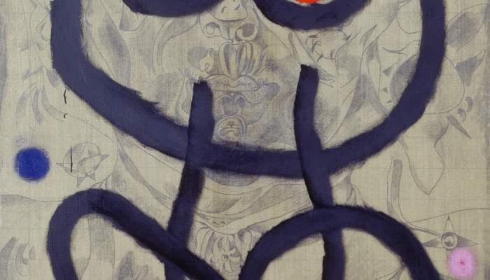 <p><em>Autorretrato</em>, Joan Mir&oacute;, 1937-1938/1960, &oacute;leo y l&aacute;piz sobre tela, 146 &times; 97 cm, Fundaci&oacute;n Joan Mir&oacute;, Barcelona. Dep&oacute;sito de colecci&oacute;n particular</p>