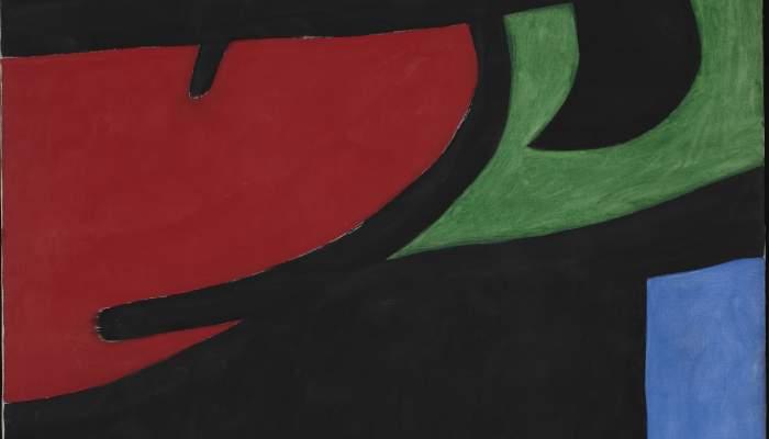 <p><em>Pag&egrave;s catal&agrave; al clar de lluna</em>, Joan Mir&oacute;, 1968, acrylic on canvas, 162 &times; 130 cm, Joan Mir&oacute; Foundation, Barcelona. Contribution from private collection</p>