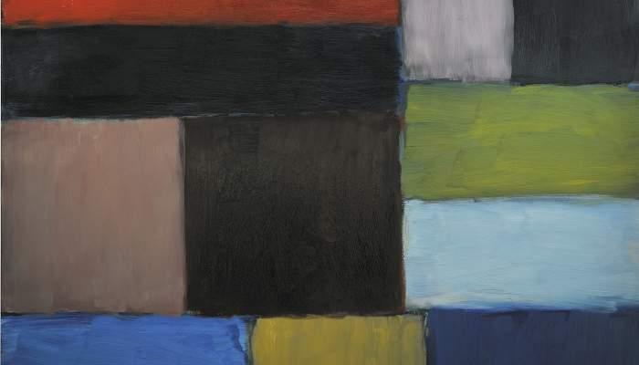<p><em>La montagne d&rsquo;Oisin</em>, Sean Scully, 2010. Huile sur aluminium, 216 &times; 190 cm. Don de l&rsquo;artiste.</p>