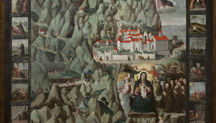 <p>Montserrat, anonyme, début du XVII<sup>e</sup> siècle, huile sur toile, 112 × 95 cm. Don de Convergència Democràtica de Catalunya, 1994</p>