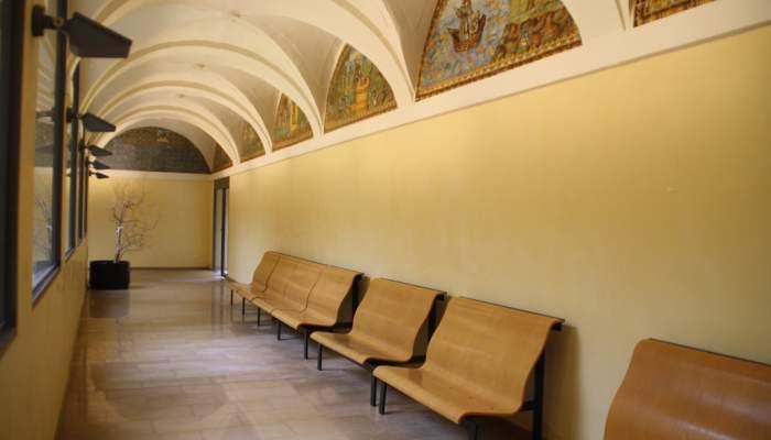 <p>Crucer&iacute;a de un ala del claustro del convento de Sant Francesc d'Ass&iacute;s Foto: Museo de Terrassa</p>