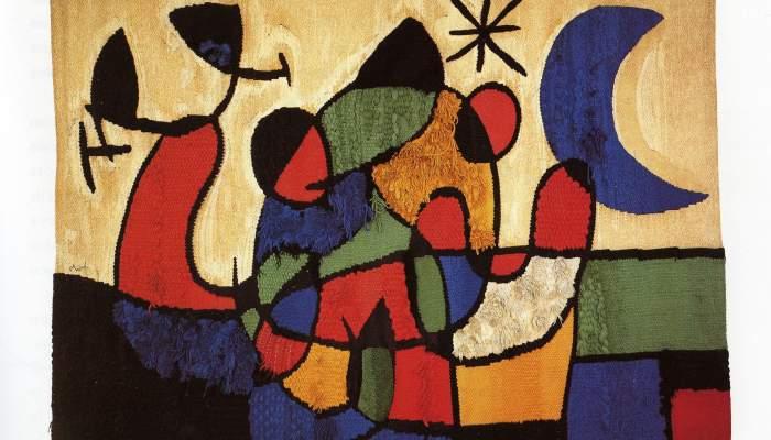 <p><em>Tapisserie de Tarragone</em>, Joan Miró et Josep Royo, 1970.</p>