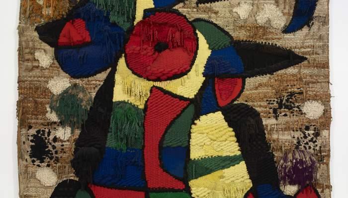 <p><em>Tapis de la Fundaci&oacute;</em>, Joan Mir&oacute;, 1979, Wool, 750 &times; 500 cm, Joan Mir&oacute; Foundation, Barcelona</p>
