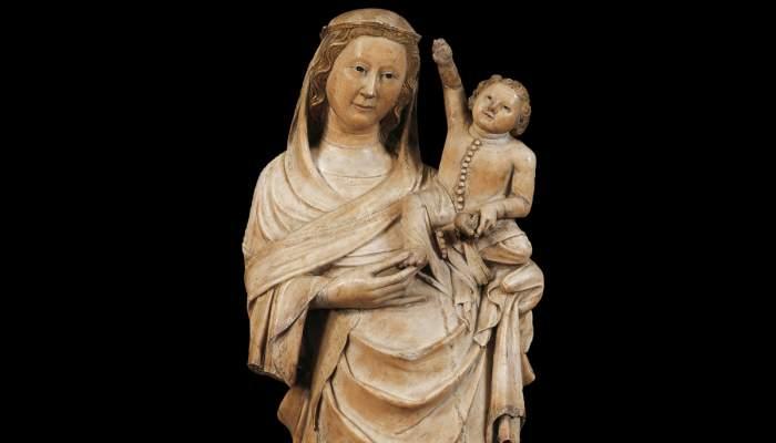 <p>Virgin of Boixadors, 1350-1370</p>