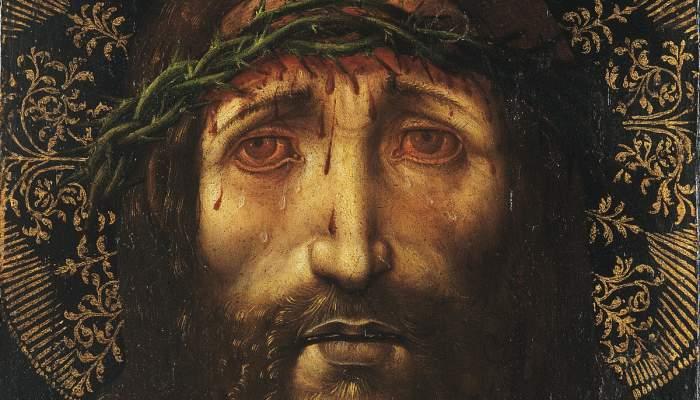 <p>The Holy Countenance, Joan Gasc&oacute;, 1513</p>