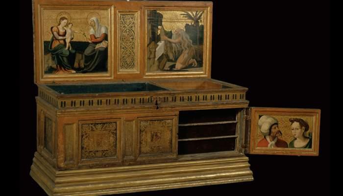 <p>Caixa de n&uacute;via, Perot Gasc&oacute; i taller, 1529-1546</p>