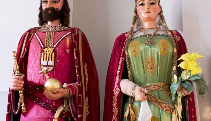 <p><em>The Gegants Vells</em> (Old Giants) of Manresa</p>