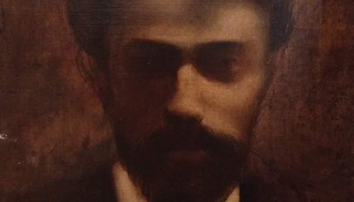<p><em>Self-portrait</em>, Josep Dalmau i Rafael, c. 1900, oil on canvas</p>