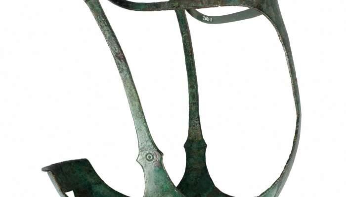 <p>Horse&rsquo;s muzzle from the Pedrera necropolis (Vallfogona de Balaguer - T&eacute;rmens)</p>