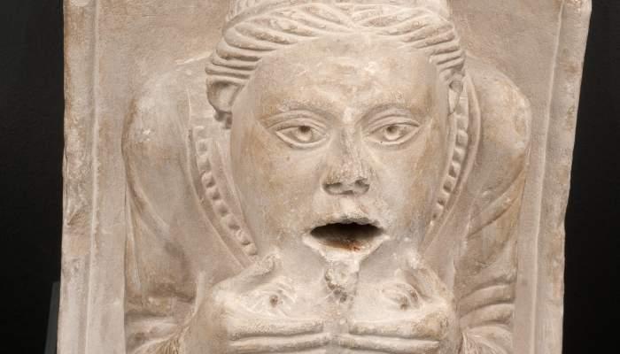 <p>A corbel originally from the former Sant Joan church in Lerida</p>