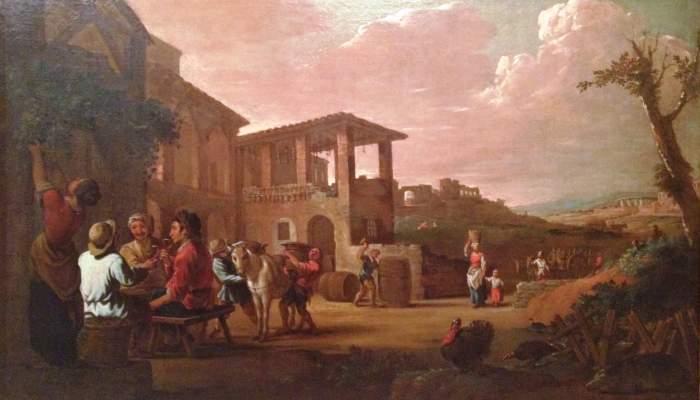 <p><em>La tardor</em>, Antoni Viladomat i Manalt, oli sobre tela, entre 1700 i 1755. Dip&ograve;sit del MNAC (Llegat de Ramir Lorenzale)</p>