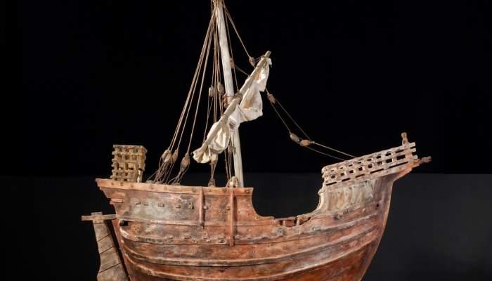 <p>La coca de Matar&oacute;. &copy; de la fotografia: Museu d&rsquo;Hist&ograve;ria de Catalunya (Pep Parer)</p>