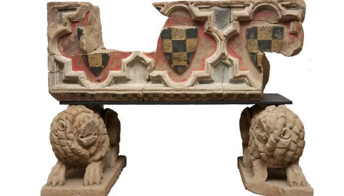 <p>Pante&oacute;n funerario del conde de Urgell Ermengol IX.</p>