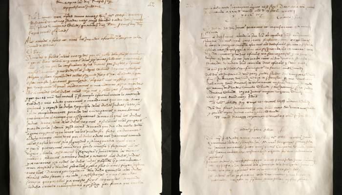 <p>Decret d&rsquo;expulsi&oacute;, 1492.&nbsp;<em>Manual d&rsquo;acords</em>, 20 d&rsquo;abril de 1492.&nbsp;Reproducci&oacute; (original a l'Arxiu Municipal de Girona)</p>