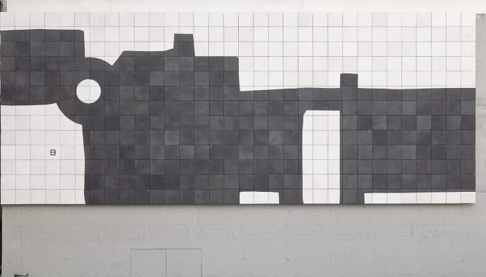 """<p>Eduardo Chillida """"Barcelona, Mural G-333"""", 1998</p>"""