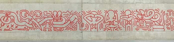 """<p>Keith Haring """"Todos juntos podemos parar el sida"""", 1989 (1996) (1998) (2014)</p>"""
