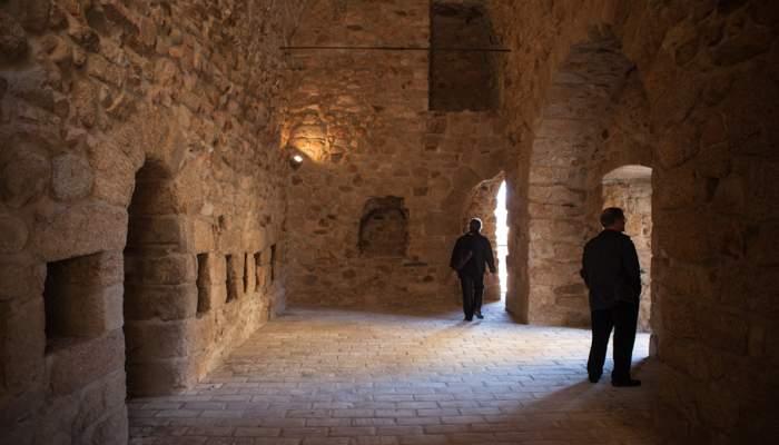<p>Habitacle dels defensors del monestir durant els atacs i els setges</p>