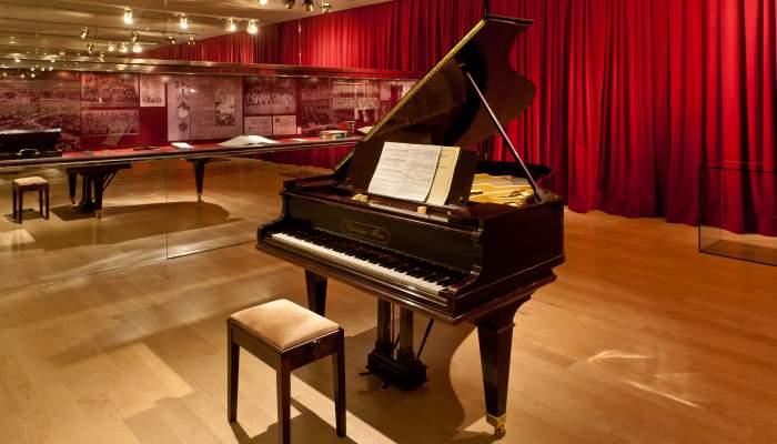 <p>Piano Chassaigne Fr&egrave;res (Barcelona), 1915. &copy; Pep Herrero</p>