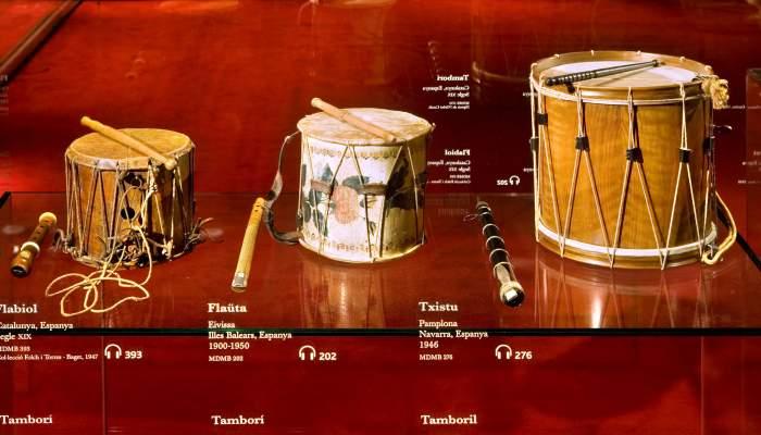 <p>El museo recoge una buena muestra de instrumentos populares, especialmente catalanes. &copy; Rafael Vargas</p>