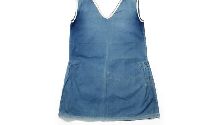 "<p><strong><span style=""font-weight: 400;"">Vestit de bany de dona, 1940-1950. Donaci&oacute; de Joan Muray.</span></strong></p>"