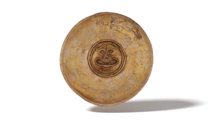 <p>F&iacute;ala o plat ritual procedent del Castellet de Banyoles (Tivissa). Datada entre 250/225 aC i 195 aC.</p>
