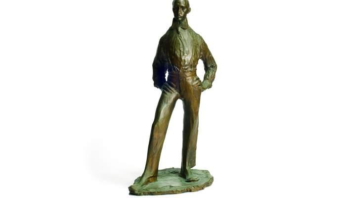 <p><em>Portrait de Miquel Utrillo</em>, Ismael Smith i Mar&iacute;, 1910, bronze. Coll. Dr Jes&uacute;s P&eacute;rez-Rosales</p>