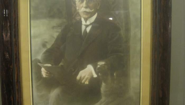 <p>Fotografia de José Enrique de Olano y Loyzaga, comte de Fígols</p>