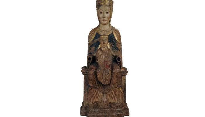 <p><em>Mare de D&eacute;u amb el Nen</em>, Fran&ccedil;a, segona meitat del segle XII, Puentedura (Burgos). &copy;&nbsp;Museu Frederic Mar&egrave;s. Foto: Ramon Muro</p> <p>&nbsp;</p>