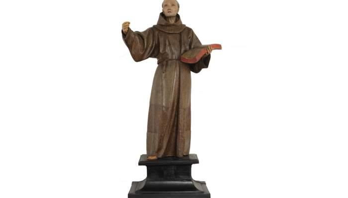 <p>Pedro de Mena, <em>Saint Peter of Alc&aacute;ntara</em>, 1663-1673, Granada, &copy;&nbsp;Museu Frederic Mar&egrave;s. Photo: Ramon Muro</p>