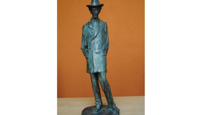 <p>Escultura de Miquel de Palol, Ricard Guin&oacute;, fundida en bronce a partir del original en yeso. Donaci&oacute;n de Maria y Miquel de Palol</p>
