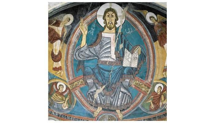Apse of Sant Climent de Taüll, around 1123