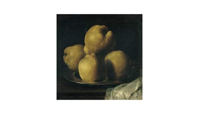 <p><em>Still life with bowl of quinces</em>,&nbsp;Francisco de Zurbar&aacute;n, 17th century. Oil on canvas, 35 x 40.5 cm.</p>