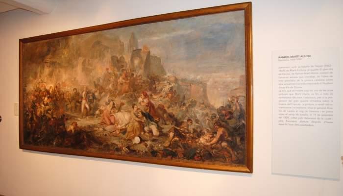 <p><em>El gran dia de Girona (El gran d&iacute;a de Girona)</em>, Ramon Mart&iacute; i Alsina,&nbsp;<em>c</em>. 1862, pintura preparatoria, &oacute;leo sobre tela. Dep&oacute;sito del MNAC</p>