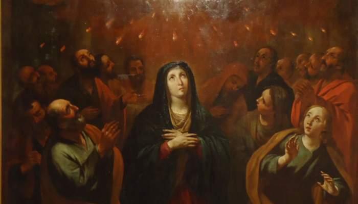 <p><em>Pentecosta</em>, Antoni Viladomat i Manalt, entre 1700 i 1755</p>