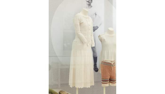 <p><strong>Ensemble de maillots de corps et combinaisons pour femme</strong></p> <p>Premier quart du XXe si&egrave;cle</p> <p>Matar&oacute;</p> <p>Photo&nbsp;: Eusebi Escarpenter. Mus&eacute;e de Matar&oacute;</p>