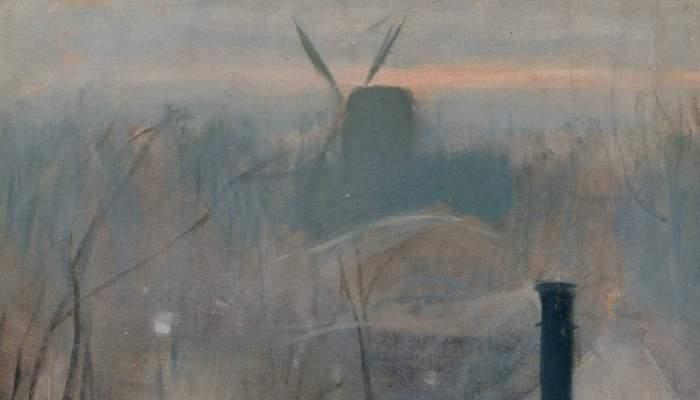 <p><em>Montmartre</em>, Ramon Casas, 1890-1891. Huile sur toile, 64&times;45&nbsp;cm.</p>