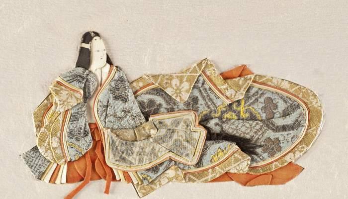 <p>Onna Kasen<br />Llibre d'artista amb textos de les millors poetesses japoneses del segles VII al XIV.<br />Japó, s. XIX. <br />Foto Quico/CDMT</p>