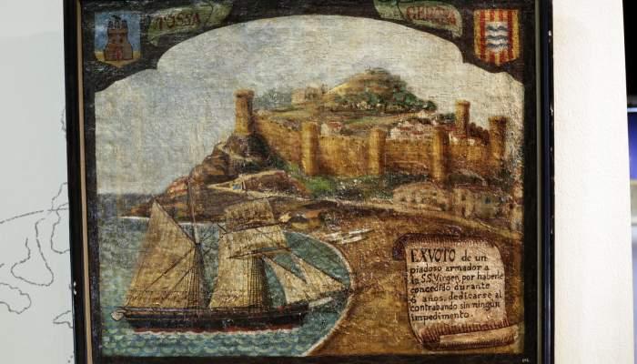 """<p>Exvot mariner dedicat a la Verge<span lang=""""ca"""">, 1899</span></p>"""