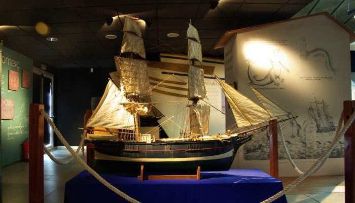 """<p><span style=""""font-weight: 400;"""">&nbsp;Maqueta naval del Caupolic&aacute;n, primera d&egrave;cada del segle XXI. Detall</span></p>"""