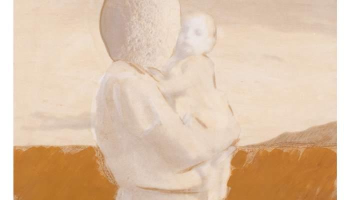 <p>&Agrave;ngel Jov&eacute; i Jov&eacute;</p> <p>1984</p> <p>Peinture acrylique sur papier d&rsquo;impression</p>