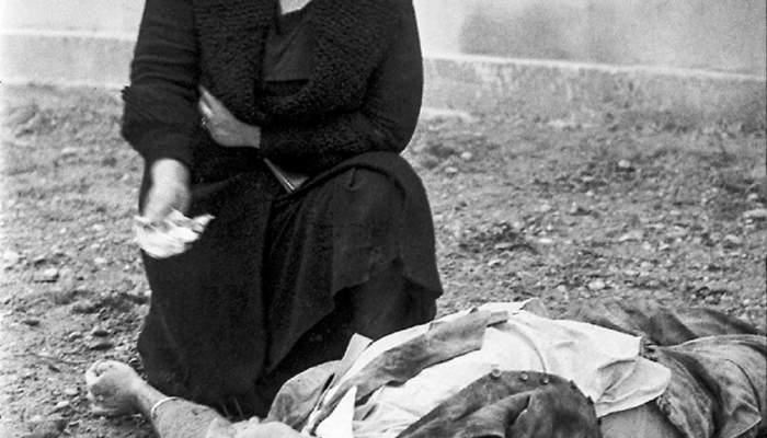 <p>Agust&iacute; Centelles i Oss&oacute;</p> <p>3 de noviembre de 1937</p> <p>Fotograf&iacute;a en blanco y negro</p>